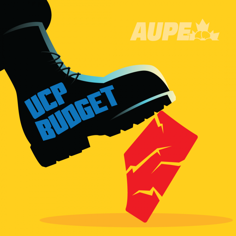 UCP budget crushes Albertans.